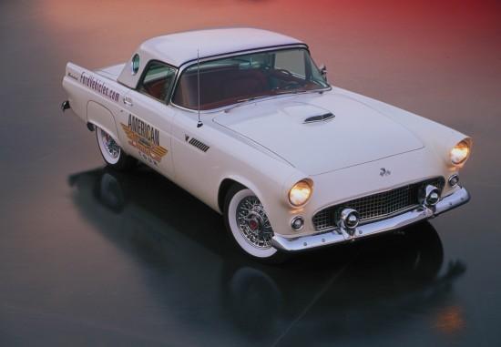 Ford Thunderbird Convertible American Dream Car Tour