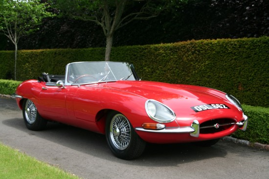 Jaguar E-Type Series I Roadster Chassis 62