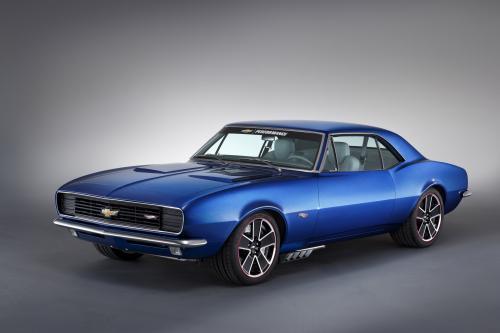 1967 Chevrolet Camaro Hot Wheels Concept Дебютирует На Hot Rod Power Tour