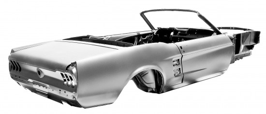Ford Mustang Convertible body shell