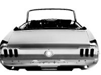 1967 Ford Mustang Convertible body shell, 2 of 3