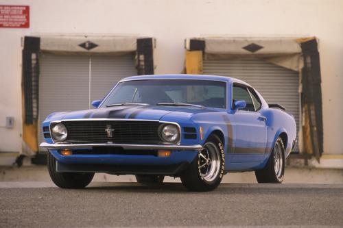 В 1970 году Форд Мустанг Босс 302 показал грубую силу для всех автолюбителей