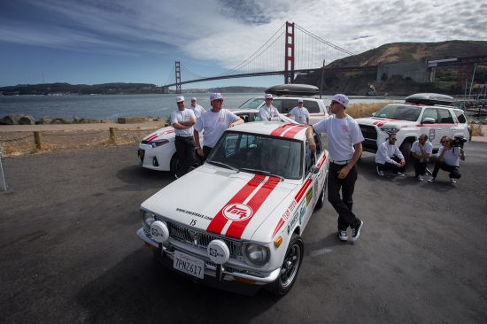 Toyota Corolla at the Great Race