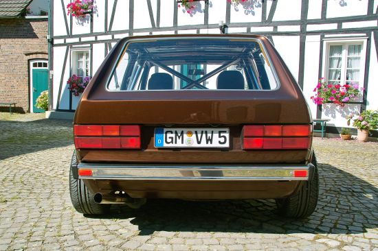 Volkswagen Golf I Chocolate Brown