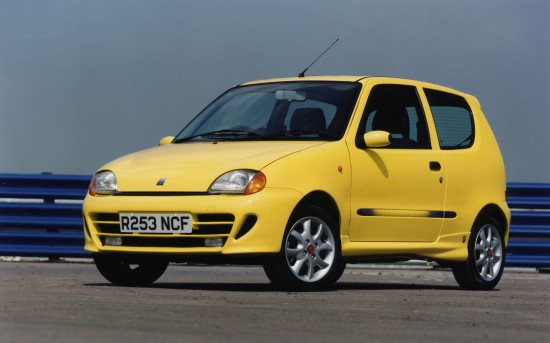 Fiat Seicento Sporting with Abarth Sport kit