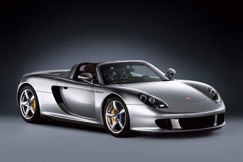 Porsche Carrera GT с прямыми трубами = брутальный звук! [HD-видео]