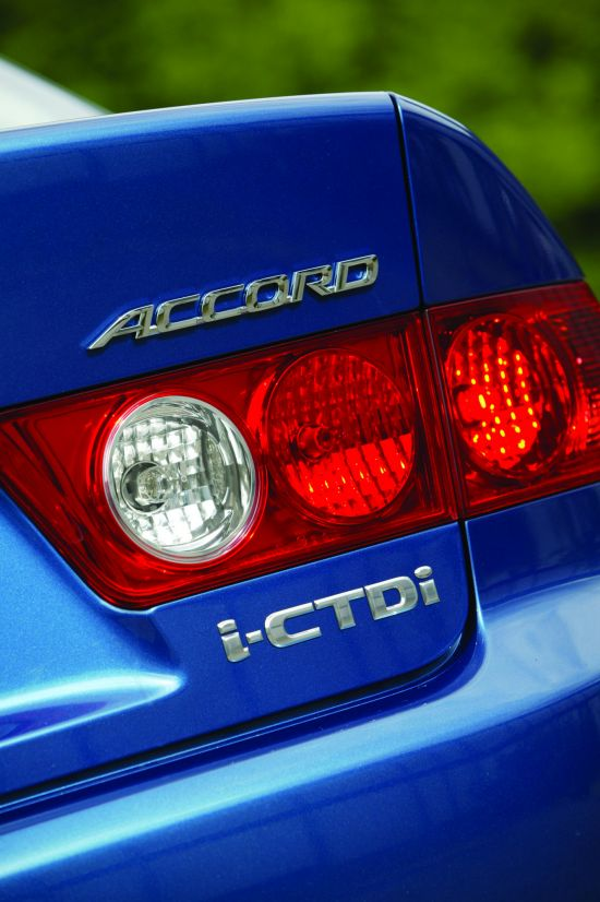 Honda Accord iCTDi European Version