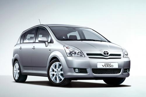 toyota corolla verso 2004 hd pictures automobilesreview. Black Bedroom Furniture Sets. Home Design Ideas