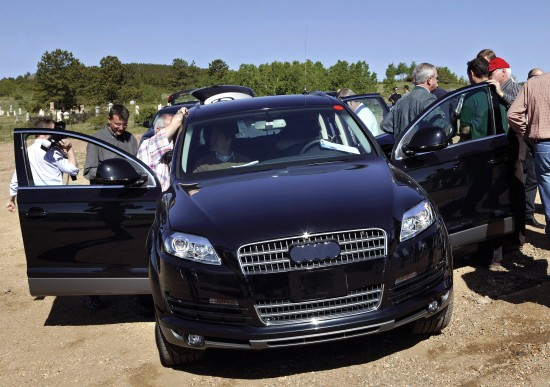 Audi Q7 prototype