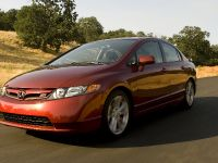 2007 Honda Civic Si Sedan Front Angle