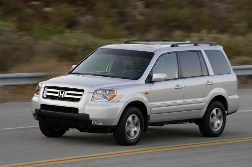 honda pilot ex l 4wd 2007 hd pictures automobilesreview. Black Bedroom Furniture Sets. Home Design Ideas