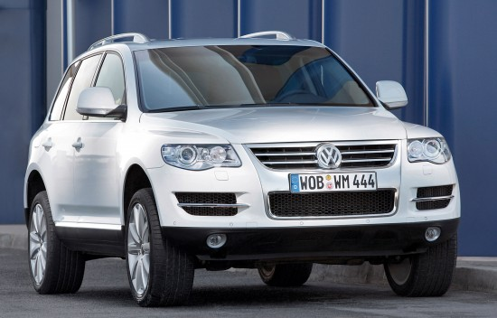 Volkswagen Touareg Blue TDI