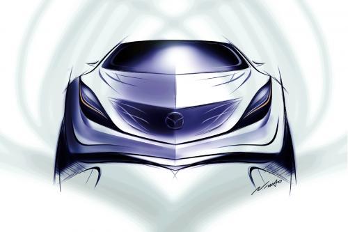 Новая Mazda концепт-кар, премьера на Московском международном автомобильном салоне