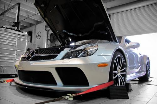 Renntech Mercedes-Benz SL65 V12 Bi-Turbo Black Series