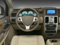 2009 Chrysler Town & Country Front Interior Driver View