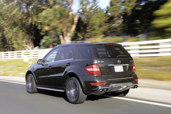 Mercedes-Benz ML63 AMG Performance Studio