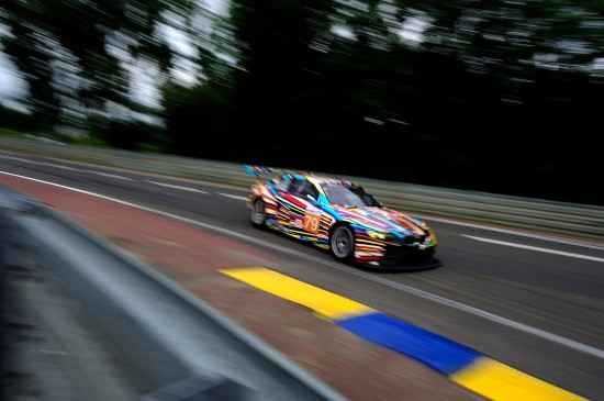 BMW M3 GT2 Art at 24h Le Mans