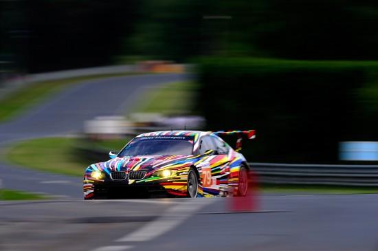 BMW M3 GT2 Art at 24h Le Mans