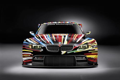BMW M3 GT2 Art Car by Jeff Koons