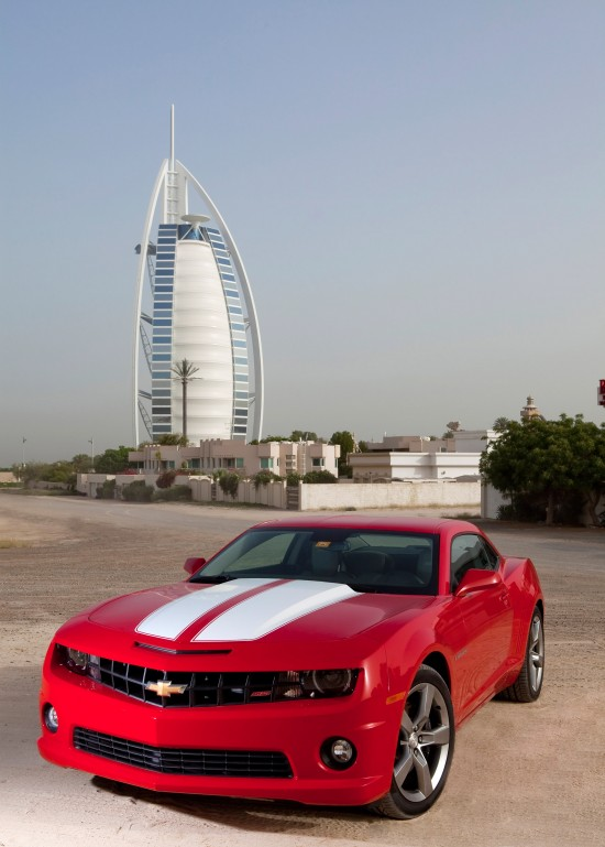 Chevrolet Camaro in Middle East