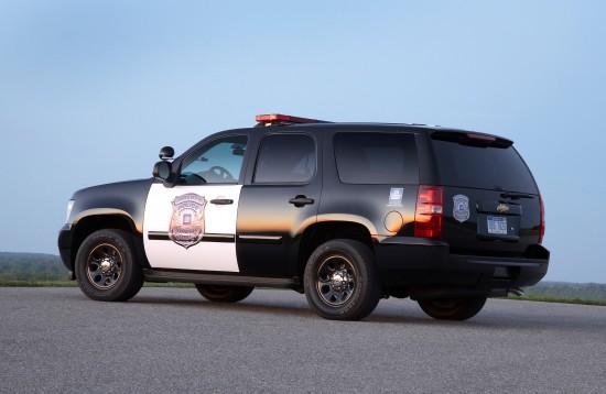 Chevrolet Tahoe Police Vehicle