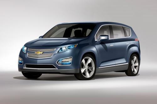 Chevrolet представлена Volt MPV5 Электрический концепт на Auto China 2010 в Пекине