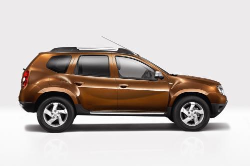 Dacia Duster показывает внедорожника в Женеве - фотография dacia