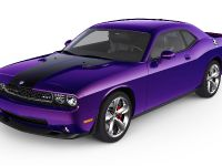 2010 Dodge Challenger Plum Crazy, 2 of 2