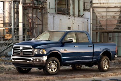 2010 Dodge Ram 2500 и 3500 будет конечная тяжелых пикапов