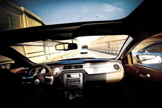 Ford Glass Roof Mustang