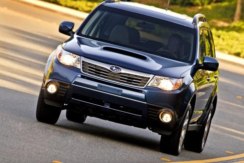 Subaru добавляет дополнительные уровни отделки салона на 2010 Forester line-up - фотография subaru