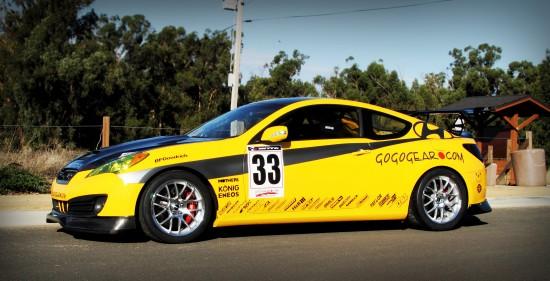 Gogogear Racing Genesis Coupe