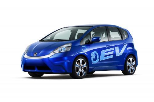 2010 Honda Fit EV Concept - серийная модель поставляется в 2012 году
