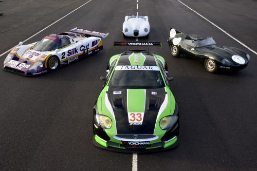 """Jaguar RSR XKR GT2 для запуска на 24 часа Ле-Мана \"""" в 2010 году"""