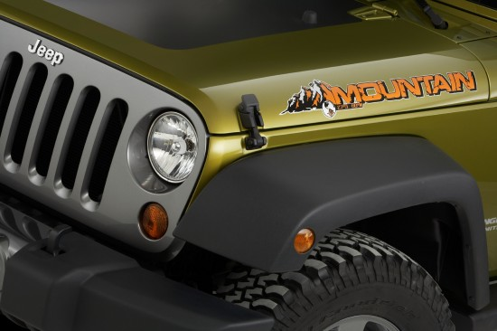 Jeep Wrangler Unlimited Mountain Edition
