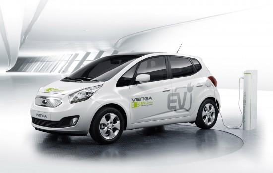 Kia Venga Plug-In Electric Concept