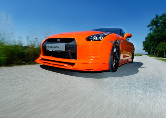 Konigseder Nissan GTR R35