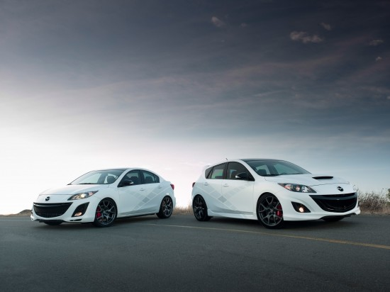 2010 Mazda3 and MazdaSpeed3 at SEMA