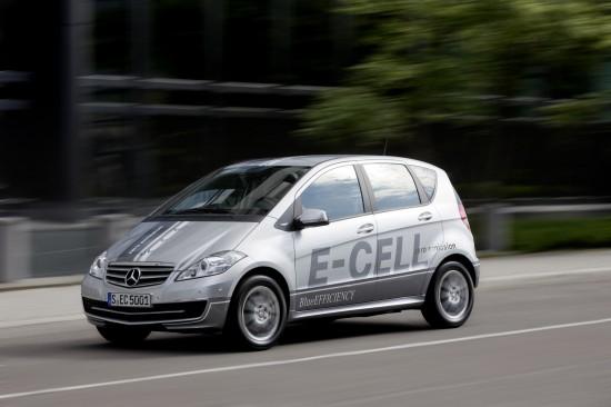 Mercedes-Benz A Class E-Cell
