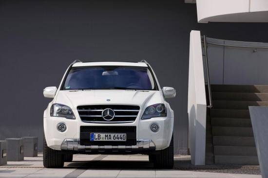 Mercedes-Benz ML 63 AMG Facelift