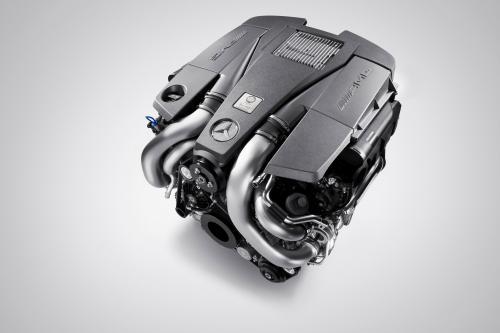 AMG 5,5-литровый V8 biturbo официально объявлено