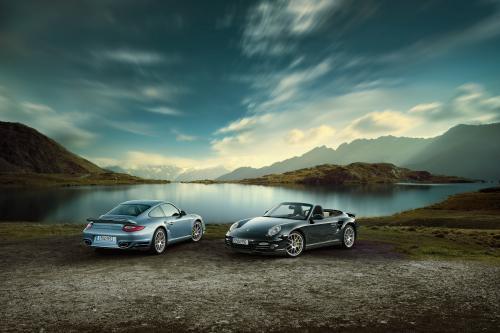 2010 Porsche 911 Turbo S показало, впереди Женеве 2010
