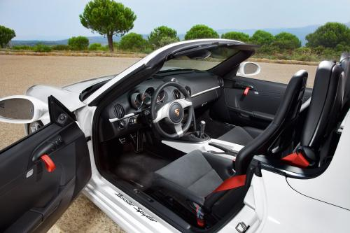 2010 Porsche Boxster Spyder будет хит Лос-Анджелесе мотор-шоу