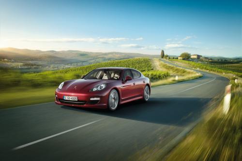 Porsche выявить V6 работает Panamera и Panamera 4 на Beijing Motor Show