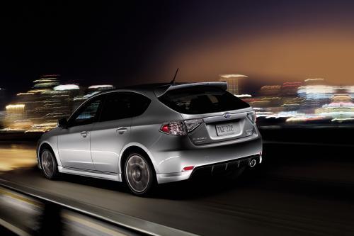 Subaru дебютирует 2010 Impreza WRX Limited модель LA Autoshow