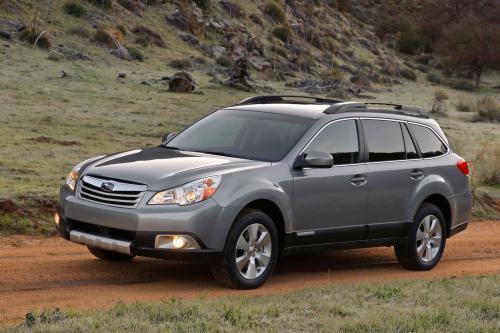 2010 Subaru Outback делает сюрприз дебют на New York International Auto Show