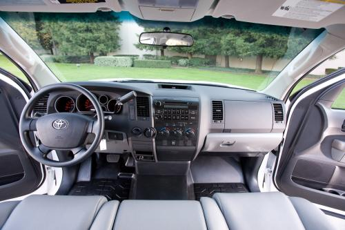 toyota to display 2010 tundra pickup with new work truck. Black Bedroom Furniture Sets. Home Design Ideas