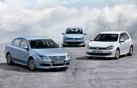 Volkswagen BlueMotion range