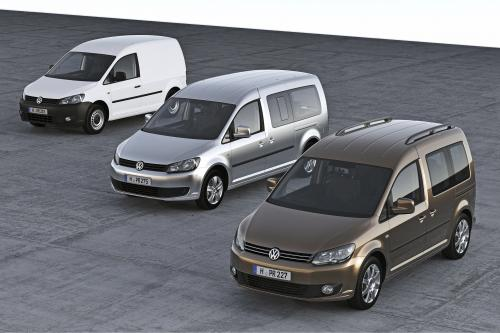 2010 Volkswagen Caddy будет дебютировать на выставке IAA в Ганновере