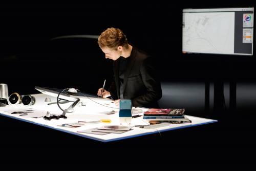 Audi показал эскизы 2011 А1 интерьера